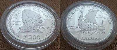 2000 --- OBJEVENÍ _ AMERIKY _ VIKINGY --- 1000. výročí
