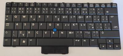 Klávesnice 451748-221 z HP Compaq 2510p vadná