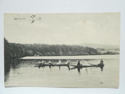 Domažlice - Babylon - Chodsko - loďky 1914