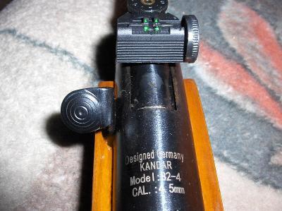 Vzduchovka B2 4,5mm kadran 4.5mm  250-720 !!!OPTIKA !! kandar !RIFLE S