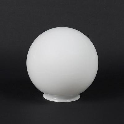 Stínidlo 4045 koule s límcem - opálová prům. 150/80 mm