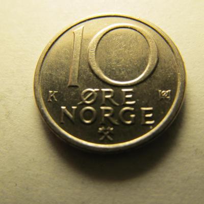 Norsko - 10 Ore 1983