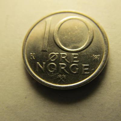 Norsko - 10 Ore 1988