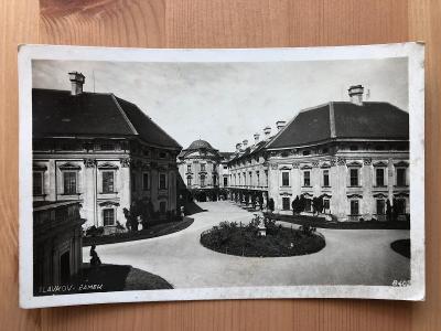 Stará pohlednice / dopisnice / pohled ZÁMEK SLAVKOV U BRNA - BRNO