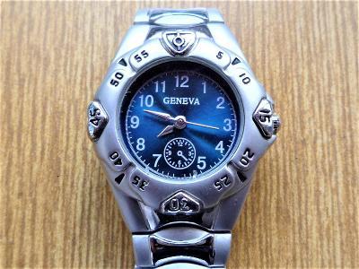 Náramkové hodinky GENEVA quartz #466-50