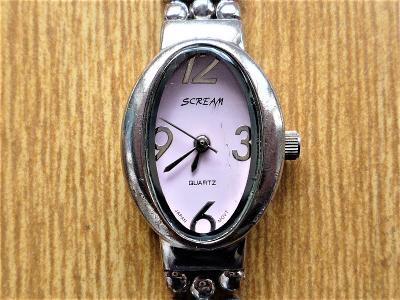 Náramkové hodinky SCREAM quartz #476-50