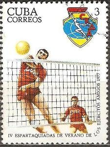 Sport Cuba 1977 volejbal