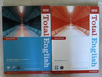 New Total English textbook + workbook (JJ. Wilson, Antonia Clare)