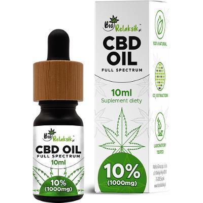 CBD konopný  olej 10%