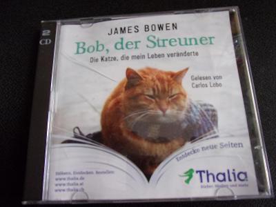 2 cd - James Bowen - Bob,der Streuner  - (skoro jako nové)