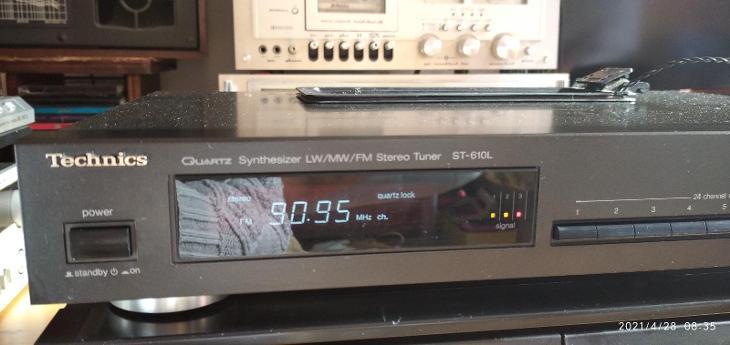 TECHNICS ST-610L TOP STAV - TV, audio, video