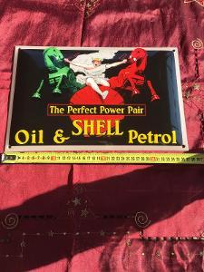 cedule smaltovana shell