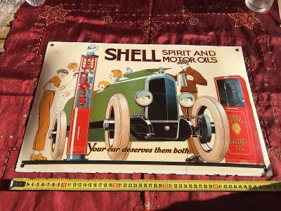 cedule shell smaltovana