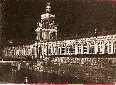 Nemecko Dresden, Zwinger ... X492 cista