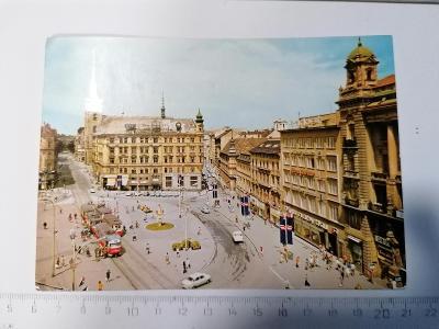 Pohled Brno náměstí Svobody