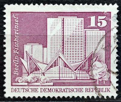 DDR: MiNr.1853 Fisherman's Island, Berlin 15pf 1973