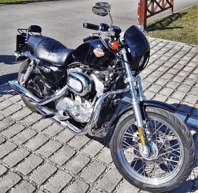 H-D Harley Davidson Sportster XL 883 s doplnky , pripraveny na sezonu