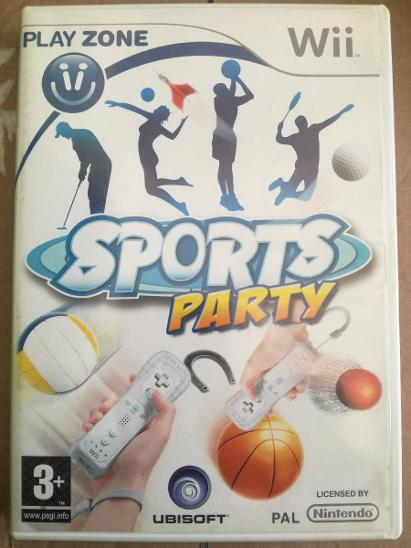 Sports Party (Wii) - Hry