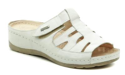 pantofle dámské Wawel GR1103 bílá  Nové vel.36
