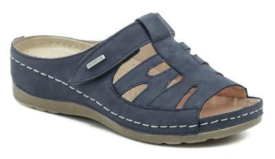 pantofle dámské Wawel GR1103 tm.modrá,  Nové vel.36