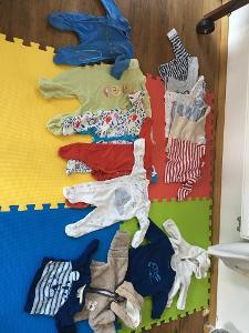 oblečení na kluka(miminko) do cca půl roku