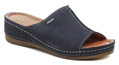 pantofle dámské Wawel W413 tm.modrá, Nové vel.38