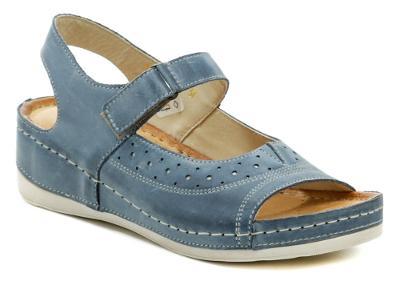 sandály dámské Wawel W469 jeans, Nové vel.37