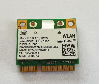Wifi modul 0H006K / 512AN_HMW z Dell Latitude E4200