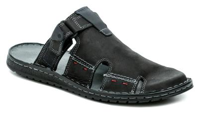 pantofle pánské Mateos MA508 černá, Nové vel.43