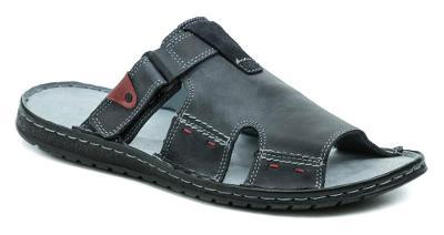 pantofle pánské Mateos MA508/B modrá, Nové vel.43