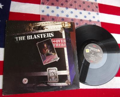 💥 LP: THE BLASTERS - OVER THERE, deska MINT 1press USA '82 Rockabilly