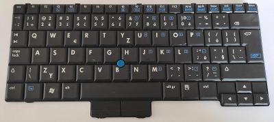 Klávesnice MP-06886C06920 / 451748-221 z HP Compaq 2510p vadná