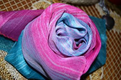Italský šátek duhový