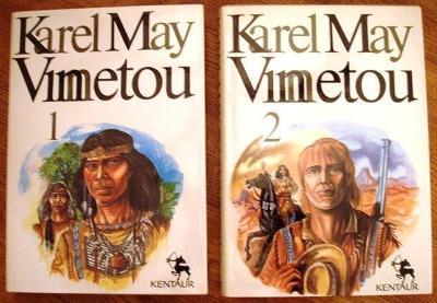 Vinnetou I-II - Karel May, Kentaur 1990, il.P.Žilák