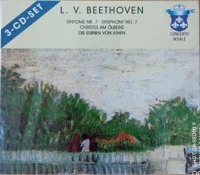BEETHOVEN L.  Symphony No.7,Christus.   3 CD SET