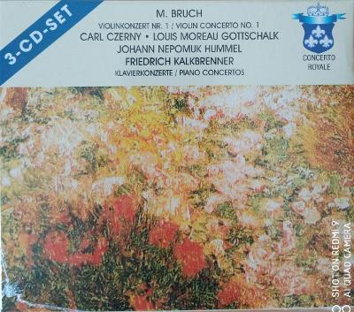BRUCH M.  Violin Concerto No.1,Piano   3 CD SET