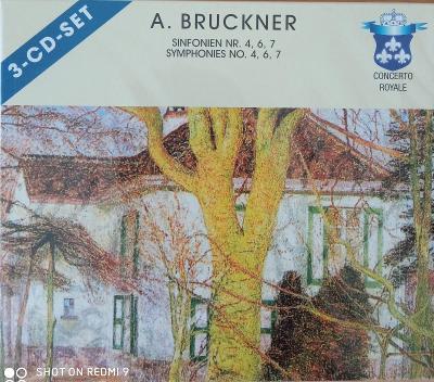 BRUCKNER A.  Symphonies No.4,6,7  3 CD SET