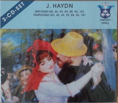 HAYDN J.  Symphonies No.45,49,59,88,.  3 CD SET