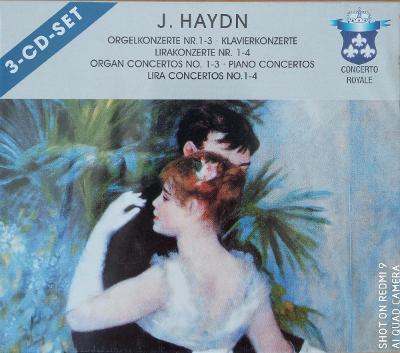 HAYDN J.  Organ Concertos No.1-3,...  3 CD SET