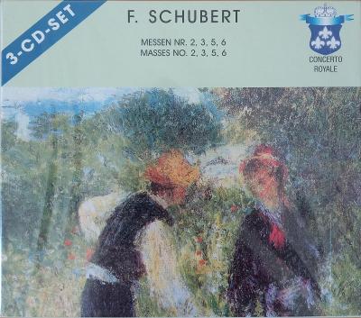 SCHUBERT F.  Massen No.2,3,5,6   3 CD SET
