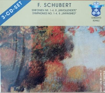 SCHUBERT F.  Symphonies No.1-4,8   3 CD SET