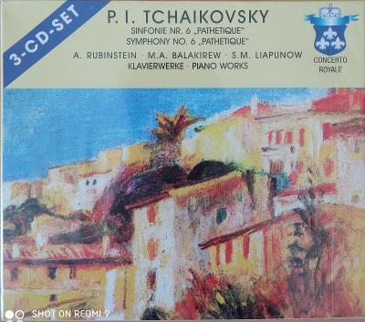 TCHAIKOVSKY P.I.  Symphony No.6   3 CD SET