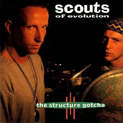 CD SCOUTS OF EVOLUTION - STRUCTURE GOTCHA / hip hop