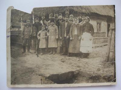 legionáři foto rok 1916
