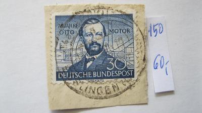 Německo BRD - razítkovaná známka katal. číslo 150