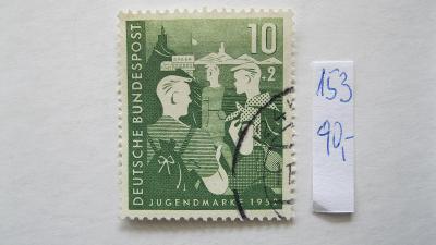 Německo BRD - razítkovaná známka katalogové číslo 153
