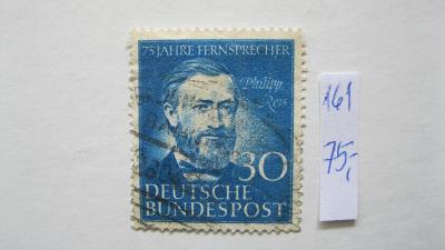 Německo BRD - razítkovaná známka katalogové číslo 161