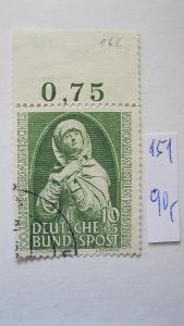 Německo BRD - razítkovaná známka katalogové číslo 151