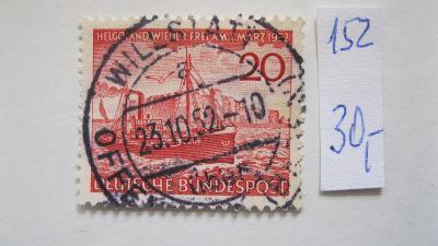 Německo BRD - razítkovaná známka katalogové číslo 152