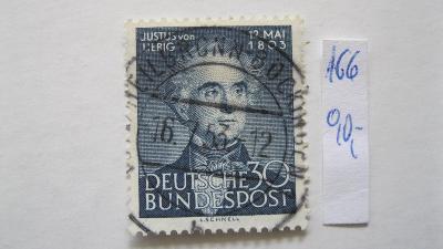 Německo BRD - razítkovaná známka katalogové číslo 166